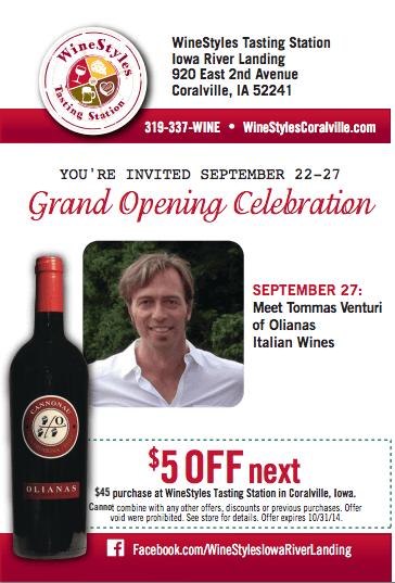 WineStyles Grand Opening   Coralville, Iowa